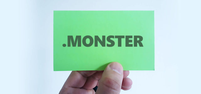 monster domain name extension