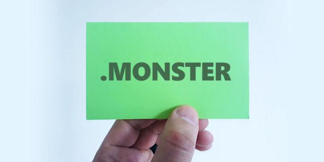 monster domain name extension