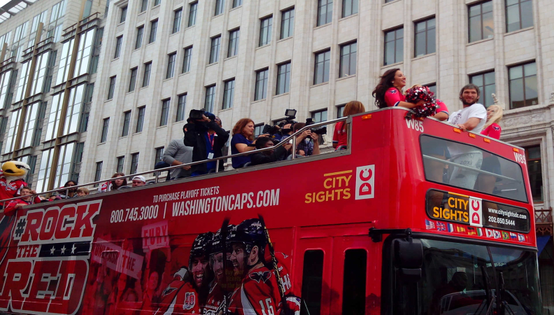 Ride of Fame Honored Ovechkin in DC