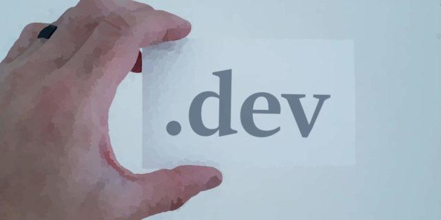 .DEV domain extension