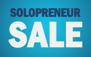 domain sale for solopreneurs