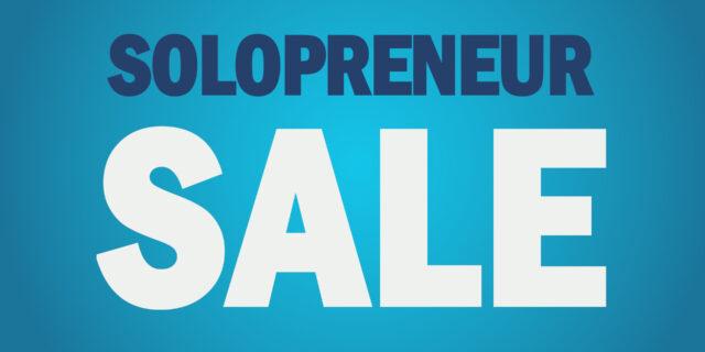 domain sale for solopreneurs