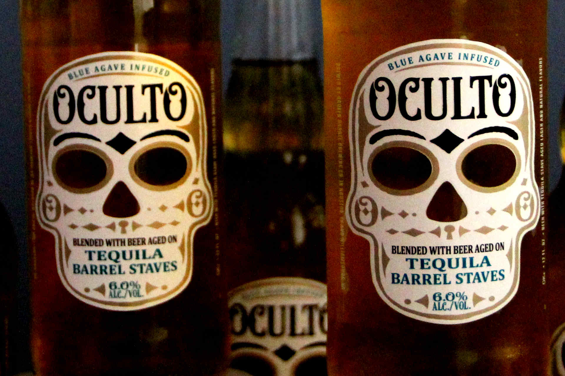Oculto Beer Brand is about Mystery